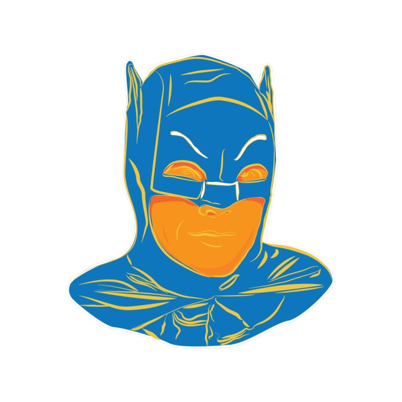 Batman Men's T-Shirt by StuffByRabassa Artist Shop
