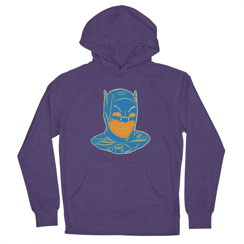 Batman Women's French Terry Pullover Hoody by StuffByRabassa Artist Shop
