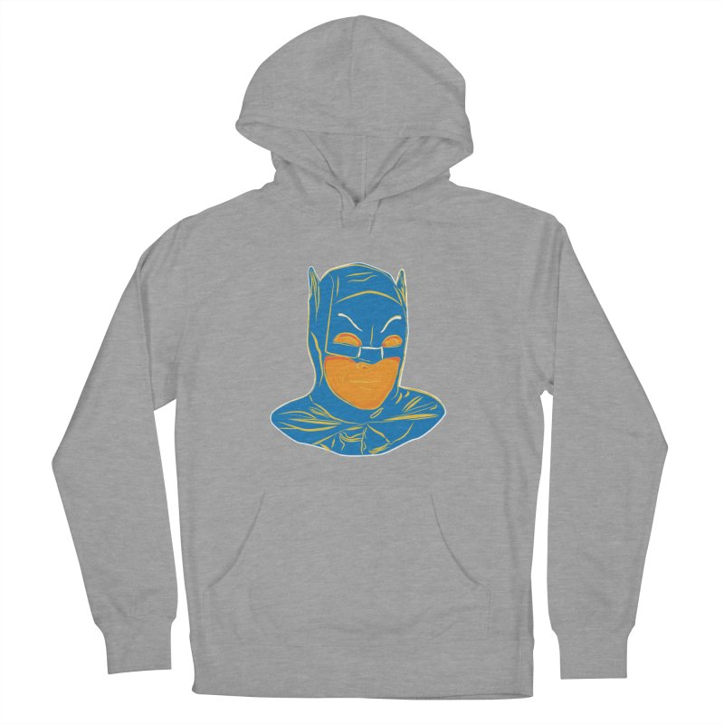 Batman Men's French Terry Pullover Hoody by StuffByRabassa Artist Shop