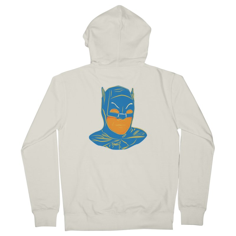 Batman Women's French Terry Zip-Up Hoody by StuffByRabassa Artist Shop