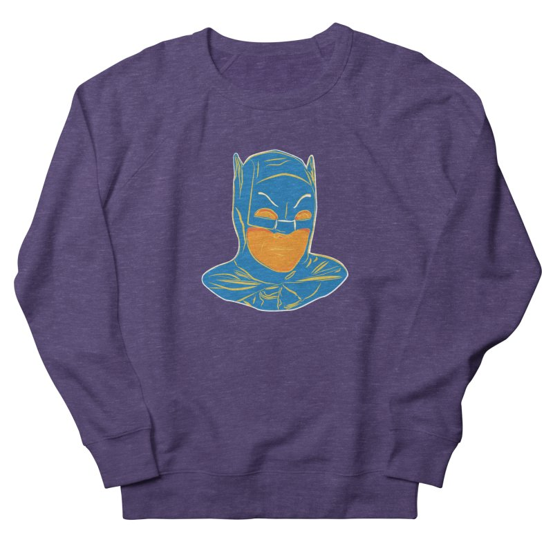 Batman Men's French Terry Sweatshirt by StuffByRabassa Artist Shop
