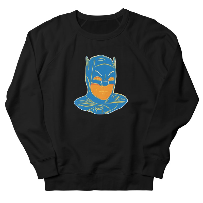 Batman Men's French Terry Sweatshirt by StuffByRabassa Artist Shop