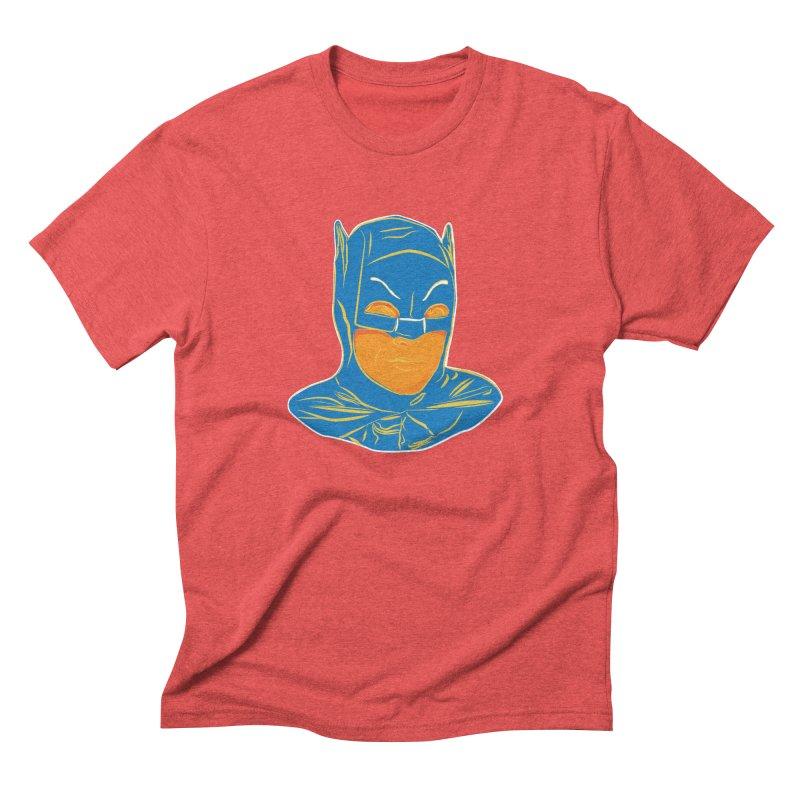 Batman Men's Triblend T-Shirt by StuffByRabassa Artist Shop