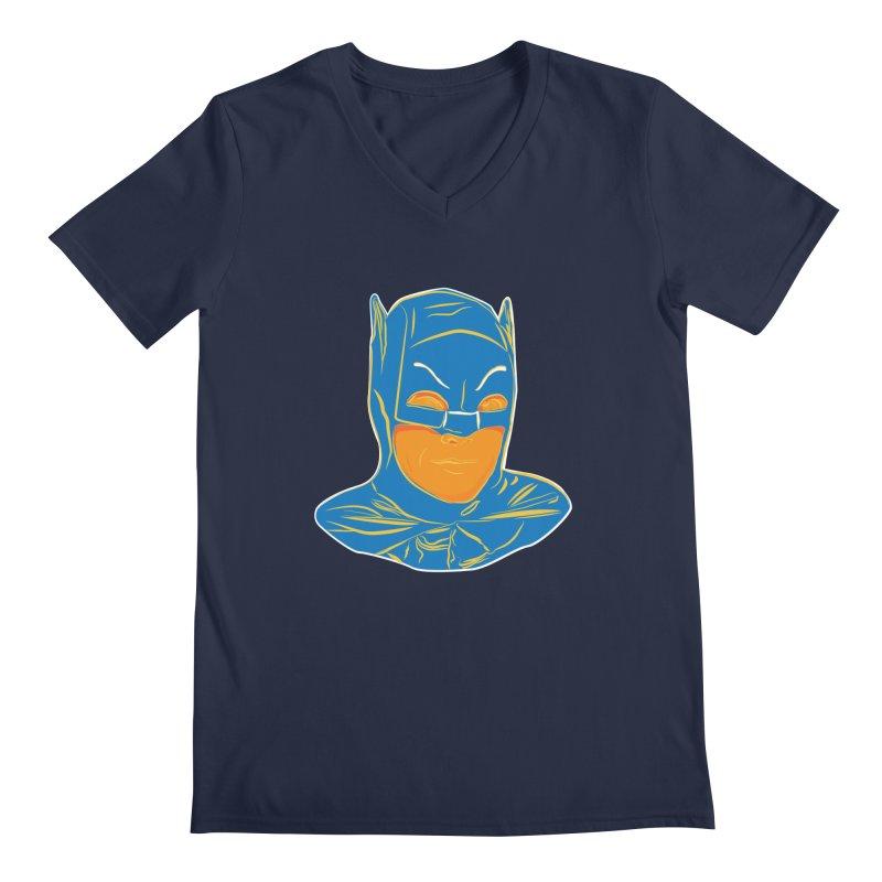 Batman Men's Regular V-Neck by StuffByRabassa Artist Shop