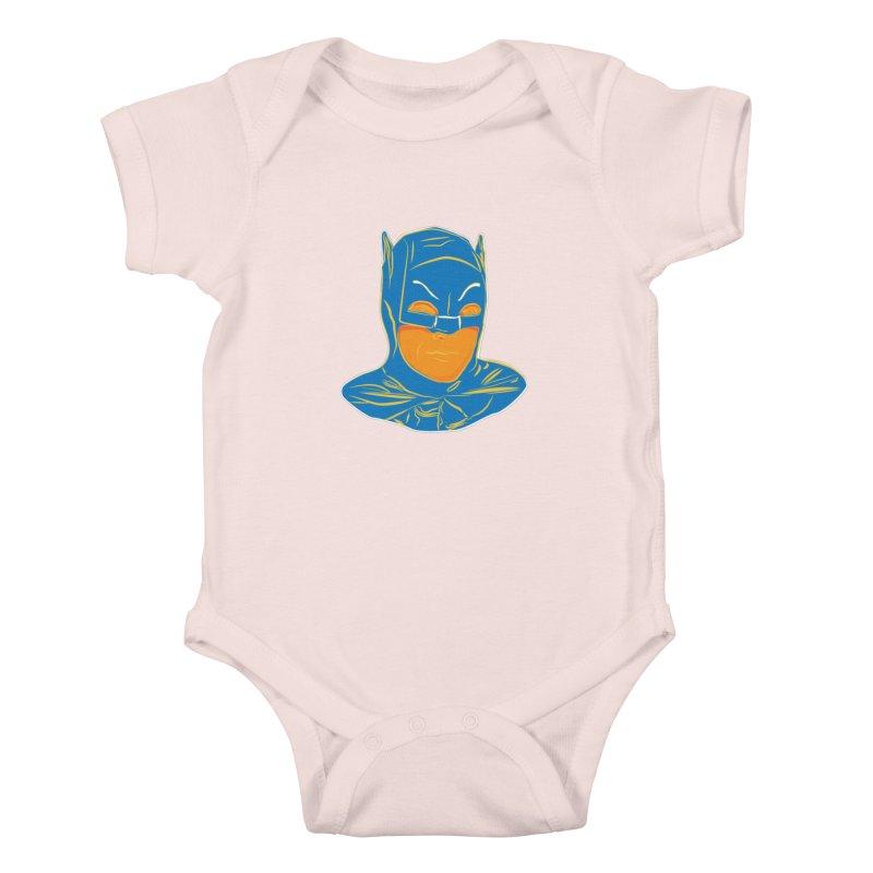 Batman Kids Baby Bodysuit by StuffByRabassa Artist Shop