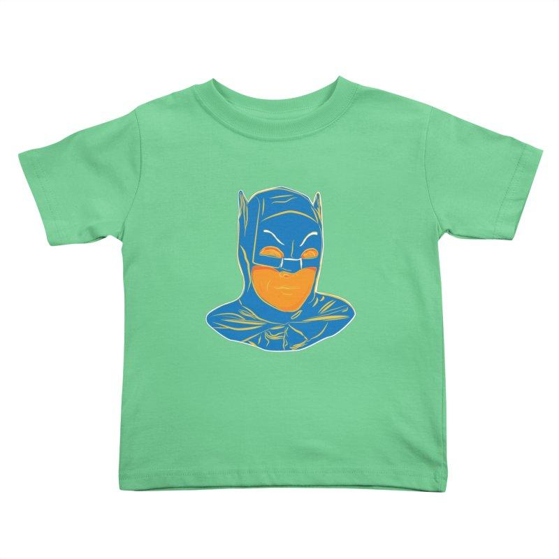Batman Kids Toddler T-Shirt by StuffByRabassa Artist Shop