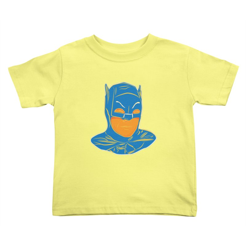 Batman Kids Toddler T-Shirt by StuffByRabassa Artist Shop