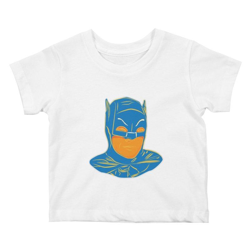 Batman Kids Baby T-Shirt by StuffByRabassa Artist Shop