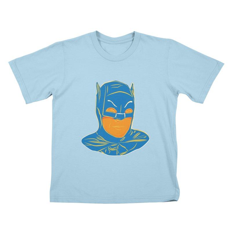 Batman Kids T-Shirt by StuffByRabassa Artist Shop