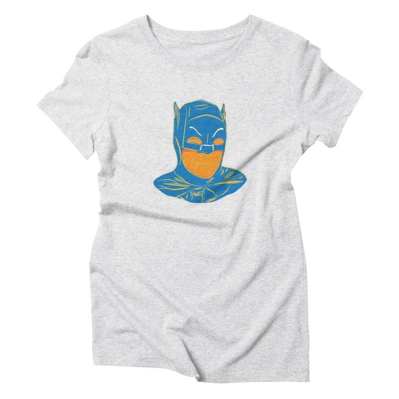 Batman Women's T-Shirt by StuffByRabassa Artist Shop
