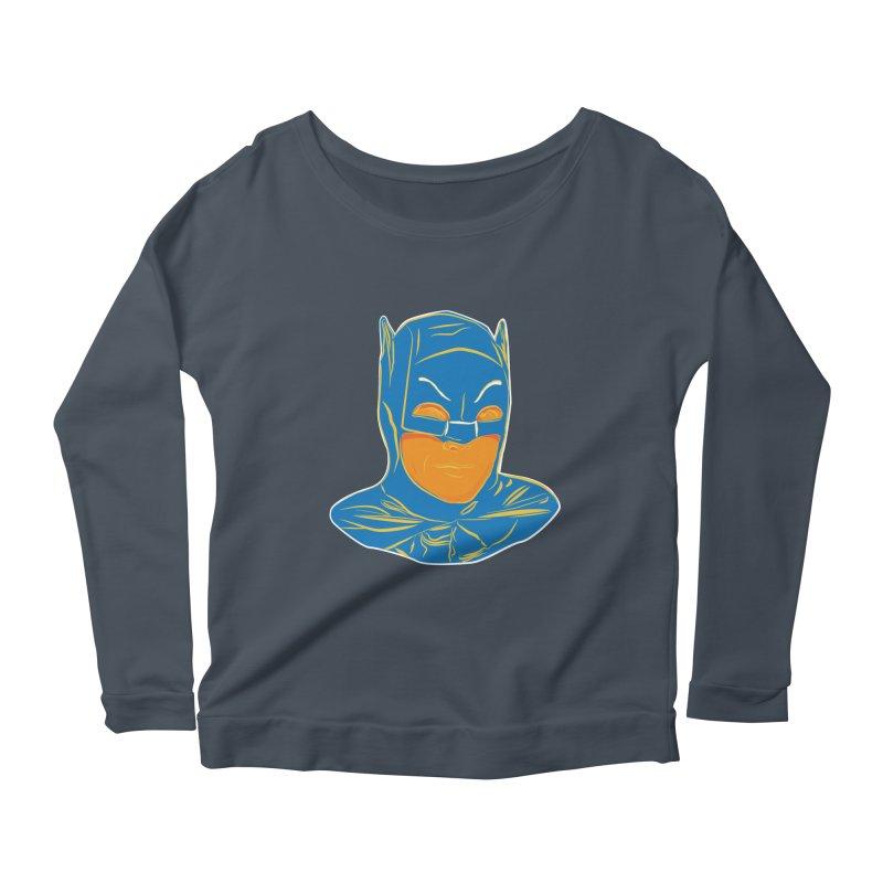 Batman Women's Scoop Neck Longsleeve T-Shirt by StuffByRabassa Artist Shop