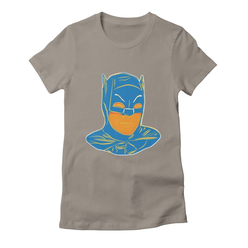 Batman Women's Fitted T-Shirt by StuffByRabassa Artist Shop