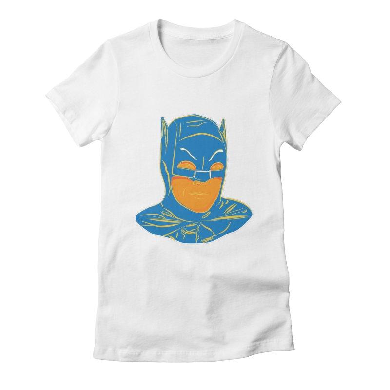 Batman Women's Fitted T-Shirt by StuffByRabassa Artist Shop