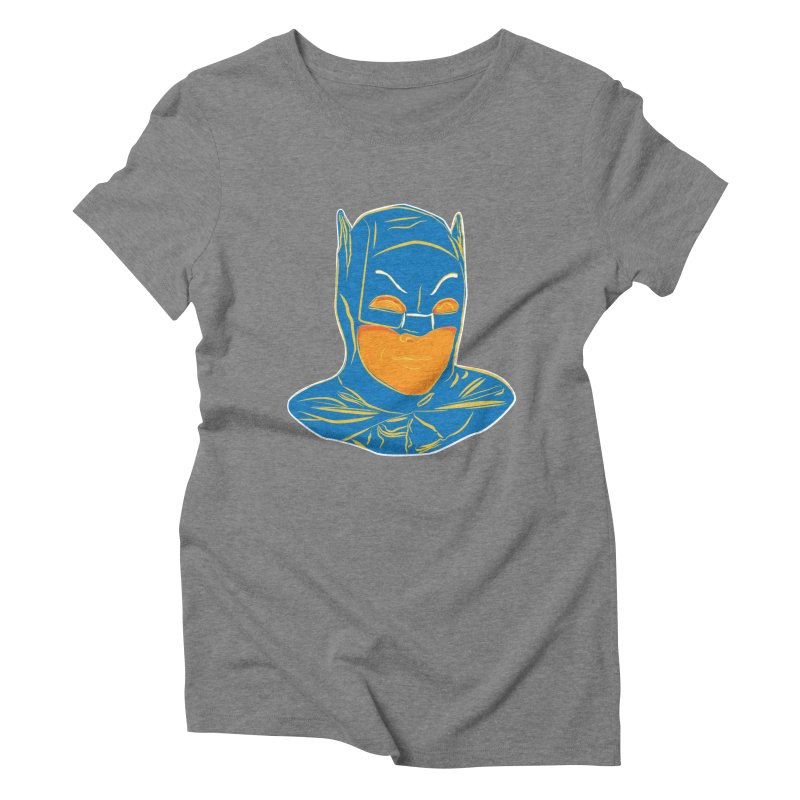 Batman Women's Triblend T-Shirt by StuffByRabassa Artist Shop