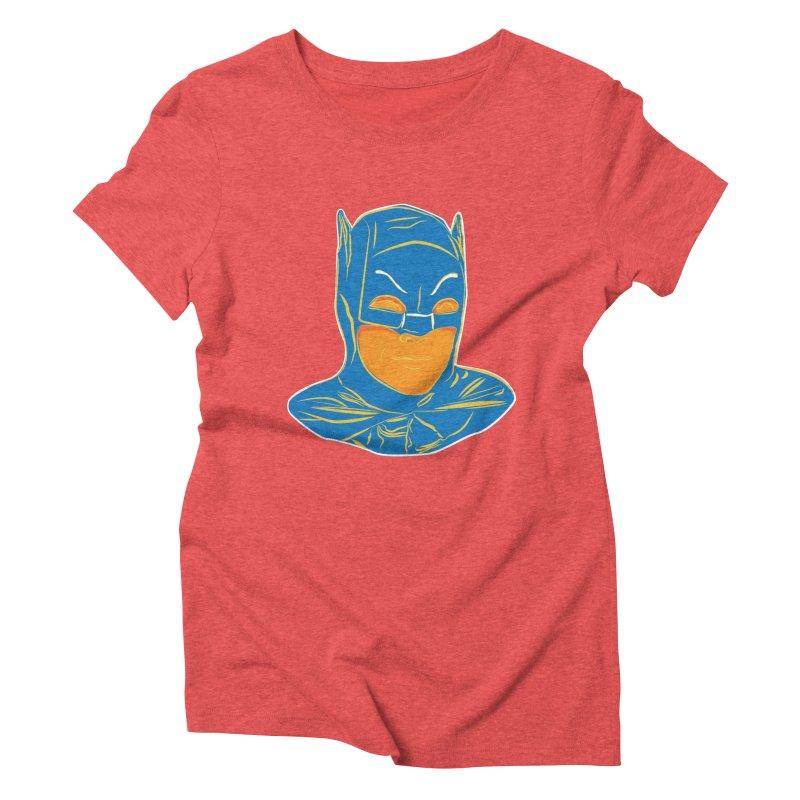 Batman Women's Triblend T-Shirt by StuffByRabassa Artist Shop