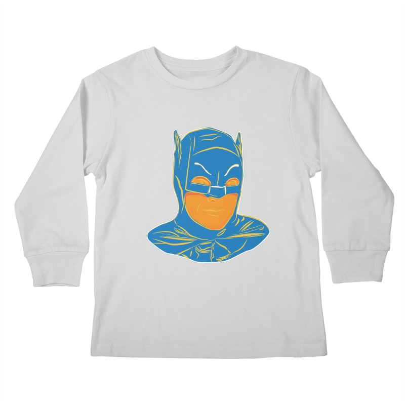 Batman Kids Longsleeve T-Shirt by StuffByRabassa Artist Shop