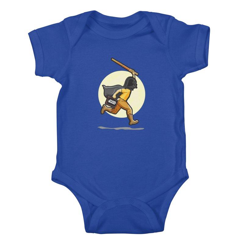 Darth Harry Kids Baby Bodysuit by StuffByRabassa Artist Shop