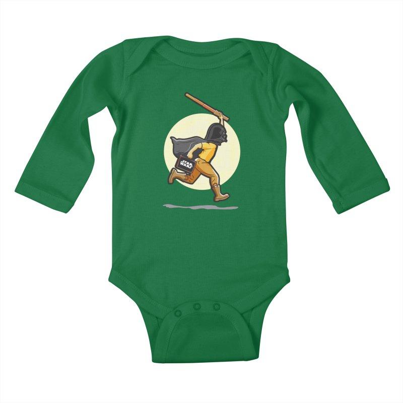 Darth Harry Kids Baby Longsleeve Bodysuit by StuffByRabassa Artist Shop