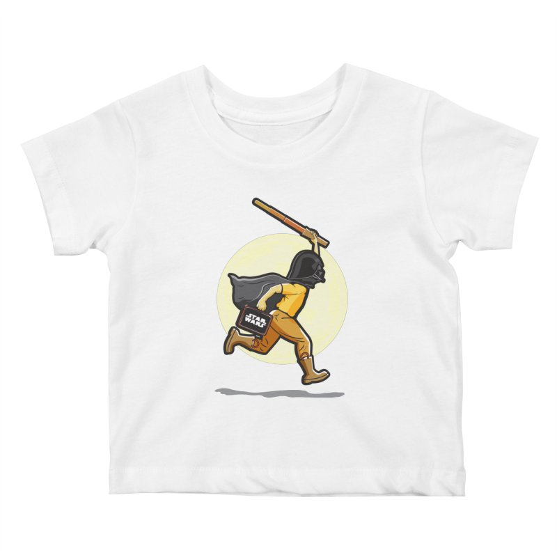 Darth Harry Kids Baby T-Shirt by StuffByRabassa Artist Shop