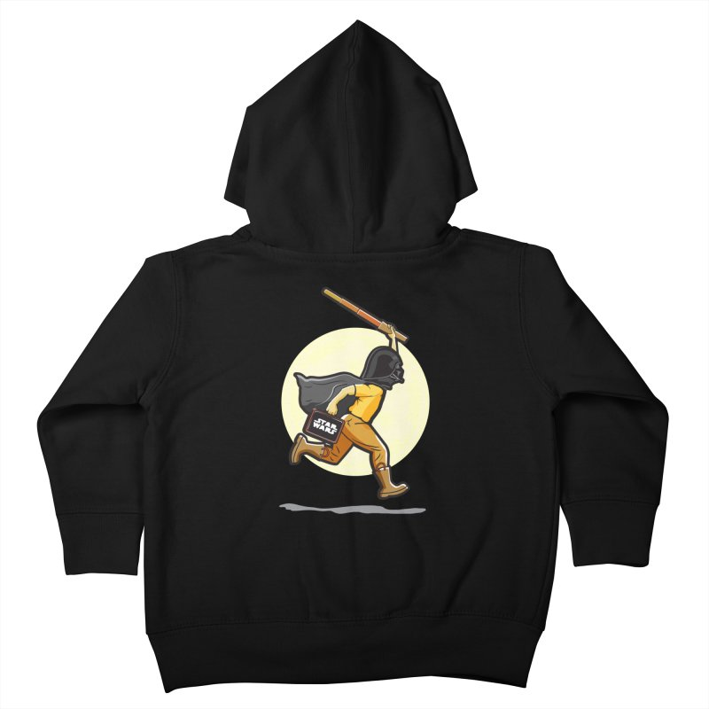 Darth Harry Kids Toddler Zip-Up Hoody by StuffByRabassa Artist Shop