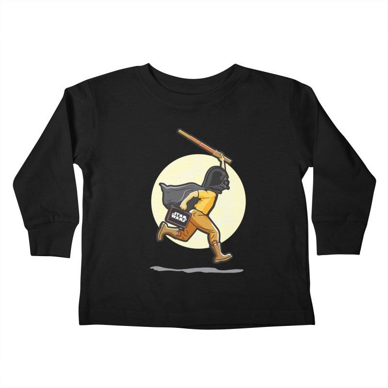 Darth Harry Kids Toddler Longsleeve T-Shirt by StuffByRabassa Artist Shop