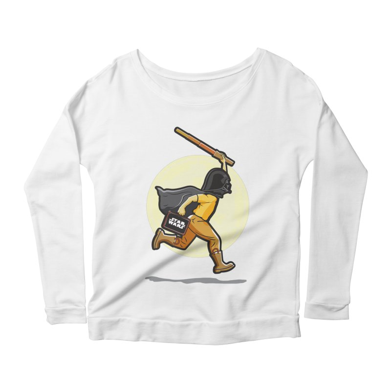 Darth Harry Women's Scoop Neck Longsleeve T-Shirt by StuffByRabassa Artist Shop