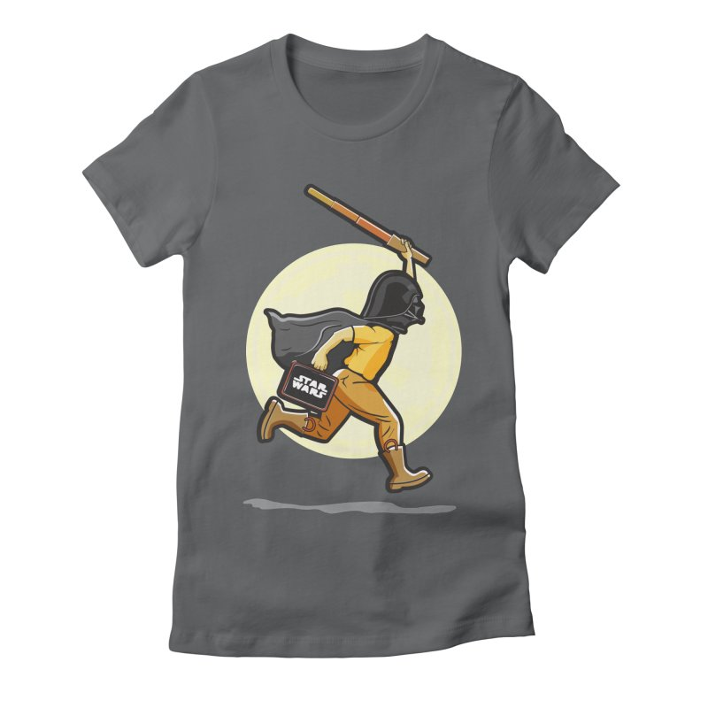 Darth Harry Women's Fitted T-Shirt by StuffByRabassa Artist Shop