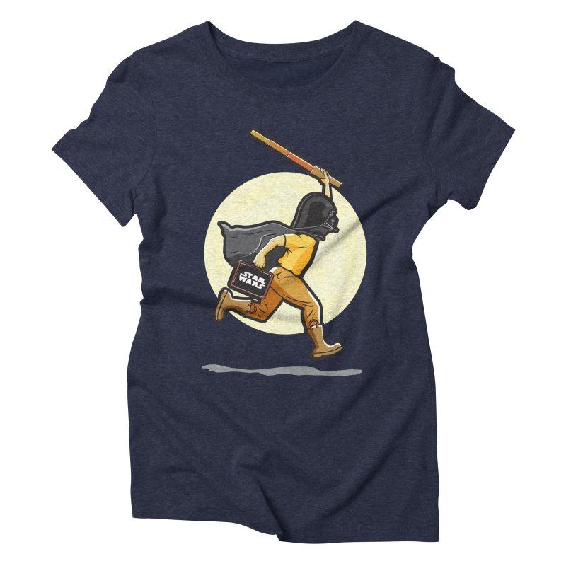 Darth Harry Women's Triblend T-Shirt by StuffByRabassa Artist Shop