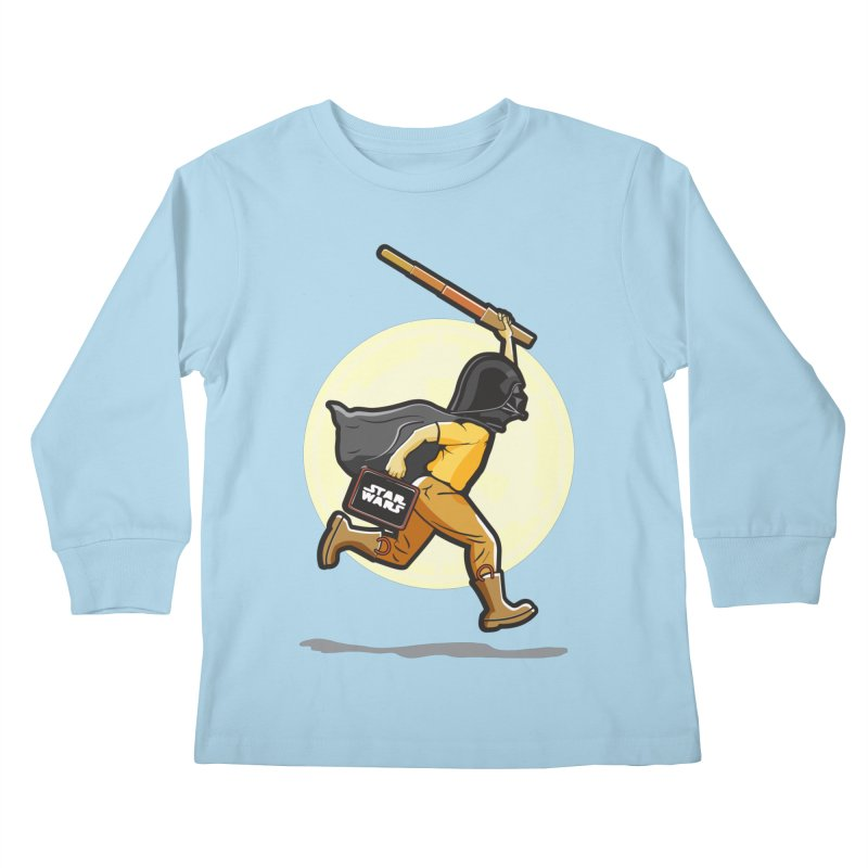 Darth Harry Kids Longsleeve T-Shirt by StuffByRabassa Artist Shop