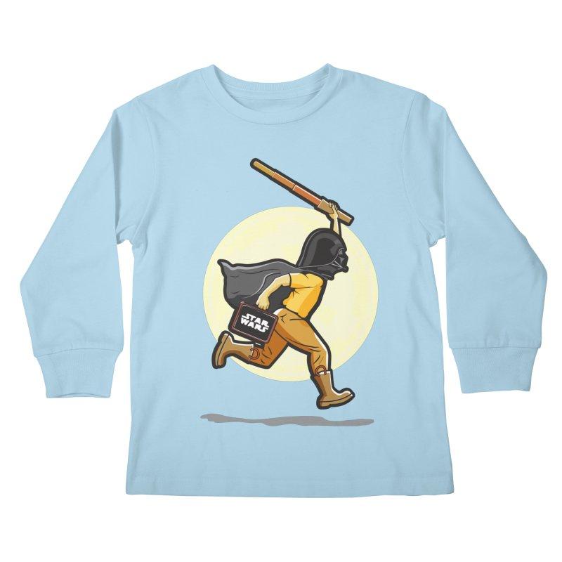 Darth Harry Kids Longsleeve T-Shirt by StuffByRabassa Artist Shop