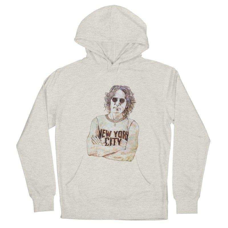 New York Men's Pullover Hoody by StuffByRabassa Artist Shop