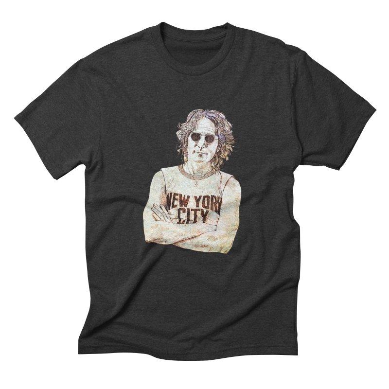 New York Men's Triblend T-shirt by StuffByRabassa Artist Shop