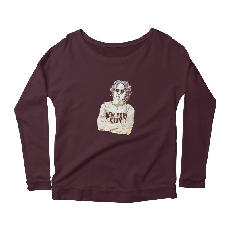 New York Women's Longsleeve T-Shirt by StuffByRabassa Artist Shop