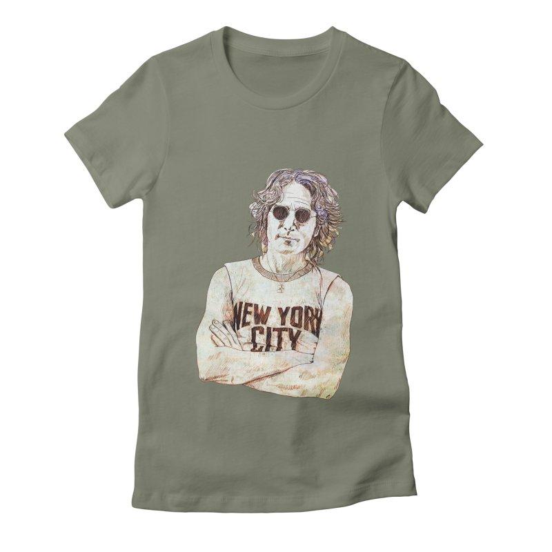 New York Women's T-Shirt by StuffByRabassa Artist Shop