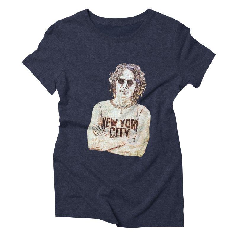 New York Women's Triblend T-Shirt by StuffByRabassa Artist Shop