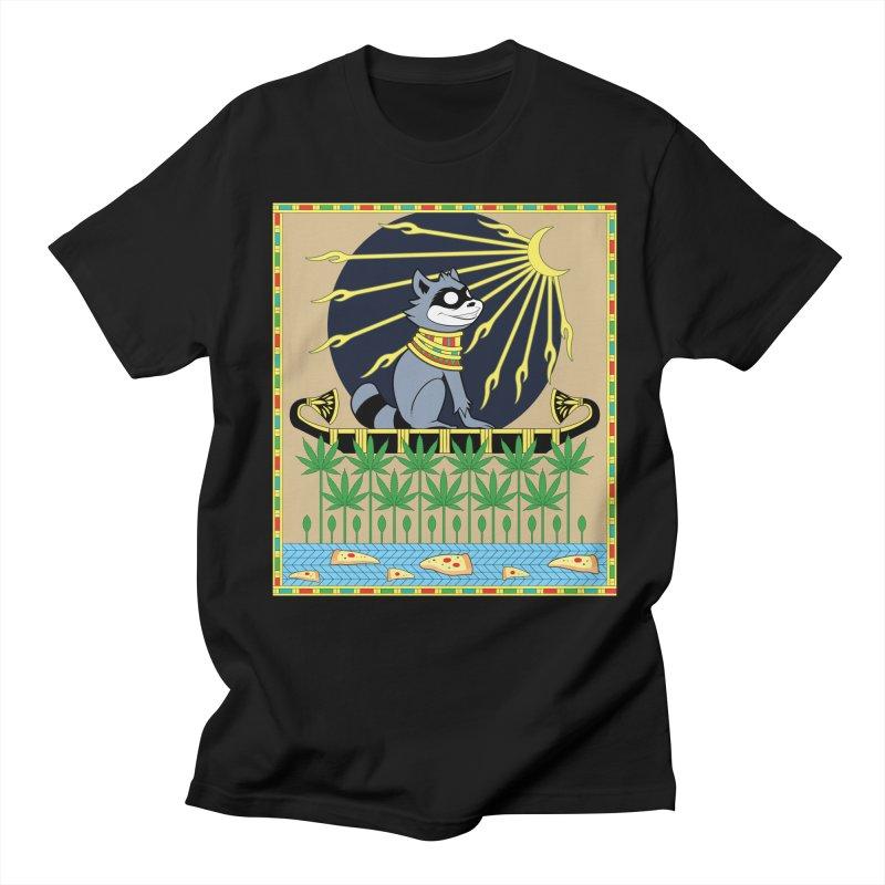 God of Mischief in Men's T-Shirt Black by Raccoon Brand