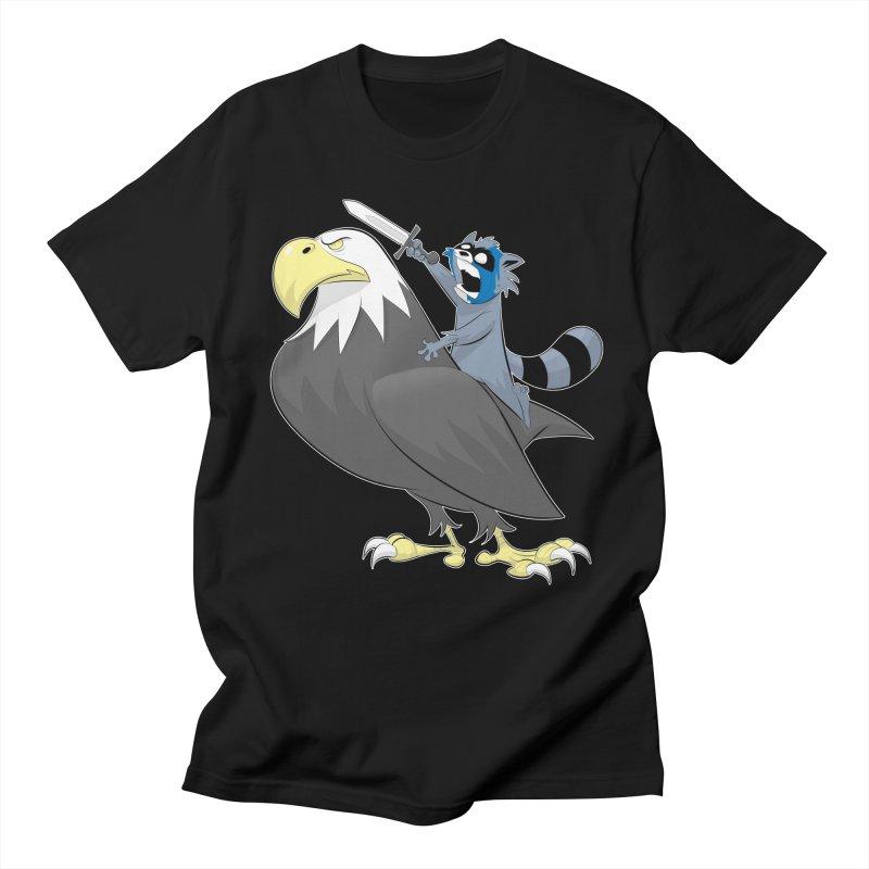 Freedom in Men's T-Shirt Black by Raccoon Brand