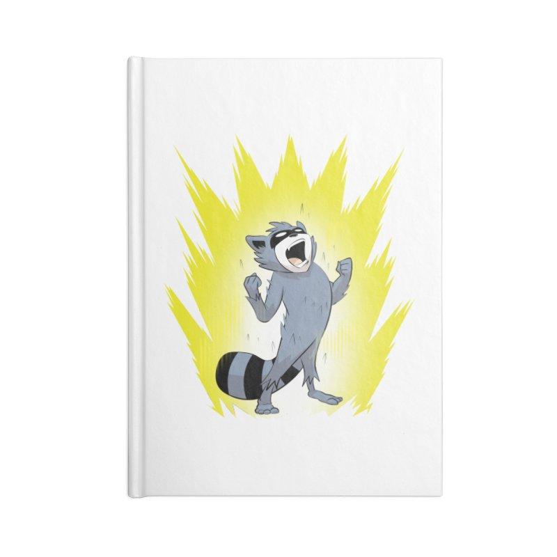 Going Super Saiyan Accessories Notebook by Raccoon Brand