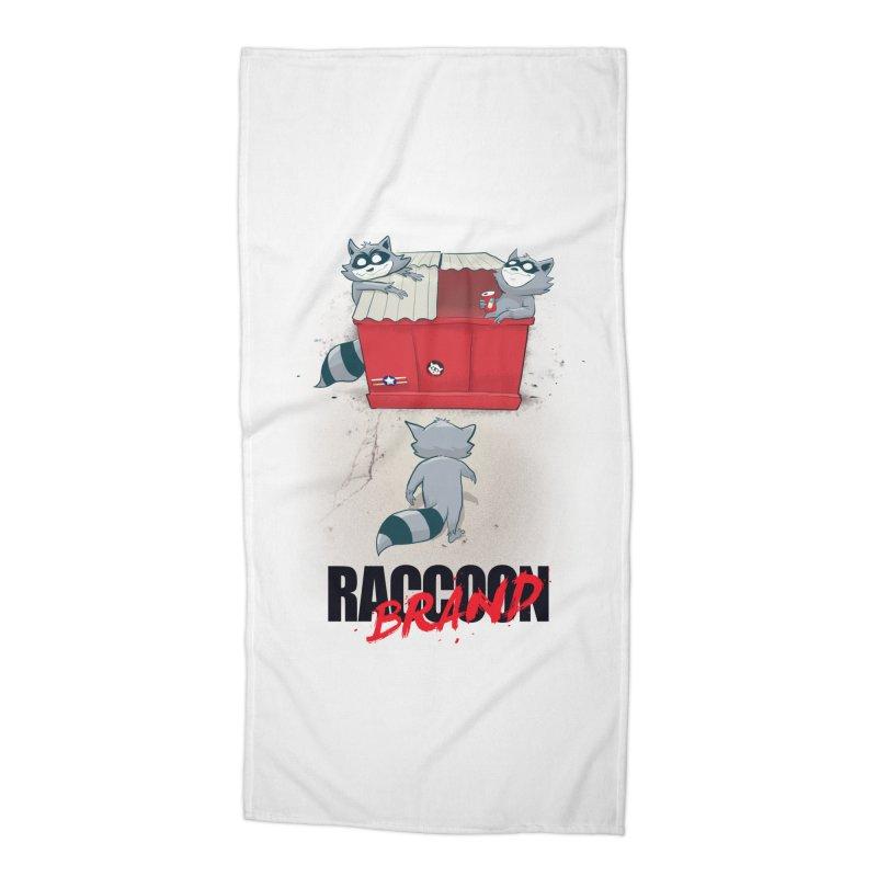 Neo Tokyo Accessories Beach Towel by Raccoon Brand