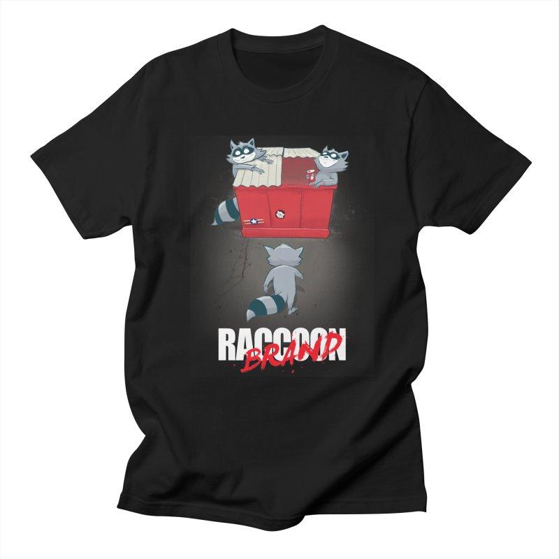 Neo Tokyo in Men's T-Shirt Black by Raccoon Brand