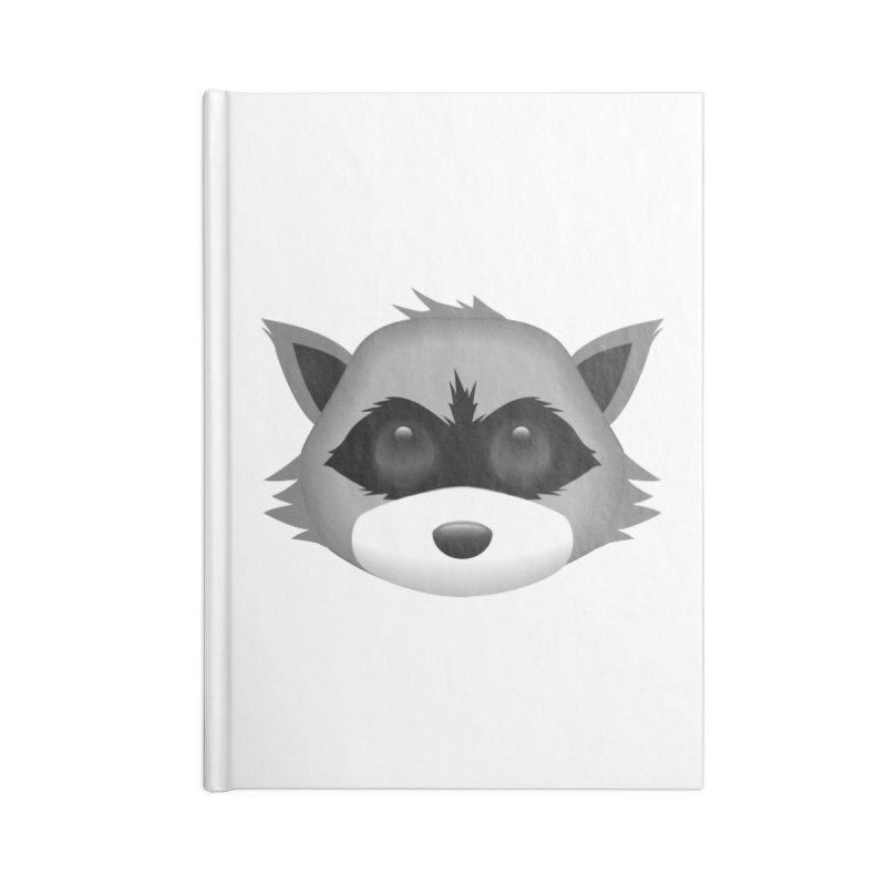 Raccoon Emoji Accessories Notebook by Raccoon Brand