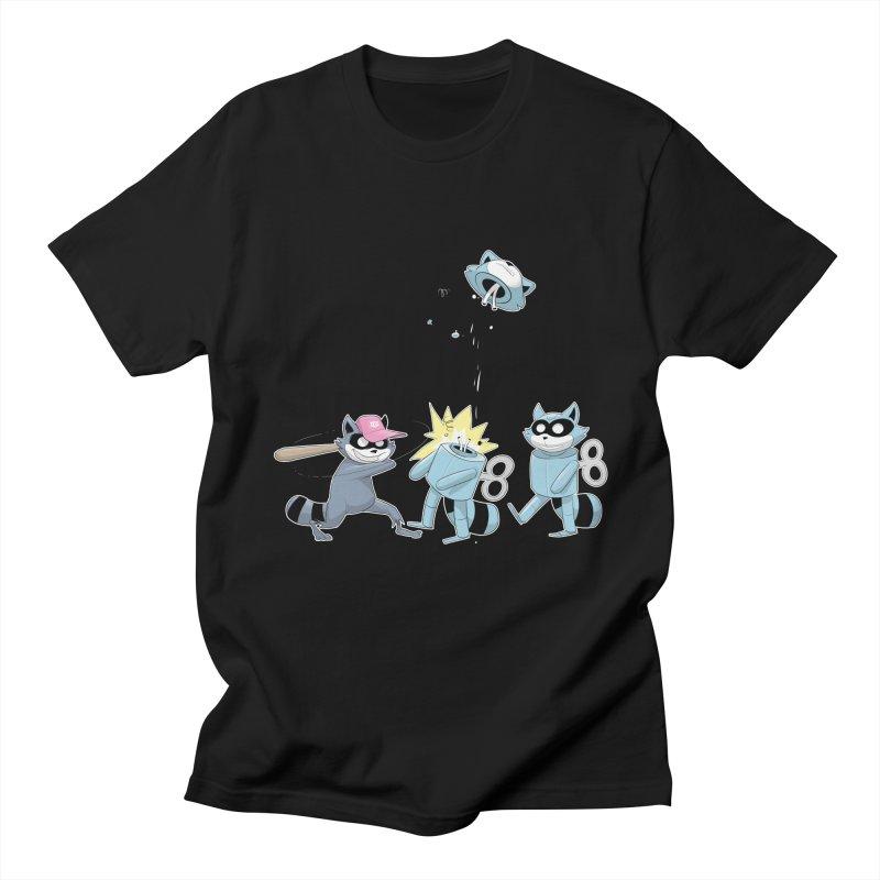 Go Against the Grain in Men's T-Shirt Black by Raccoon Brand