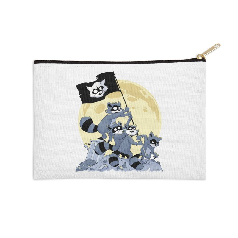 Raising the Flag Accessories Zip Pouch by Raccoon Brand