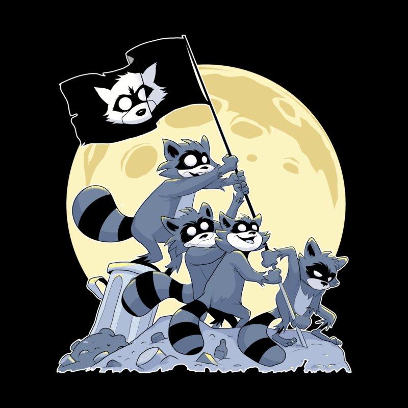 Raising the Flag Men's T-Shirt by Raccoon Brand