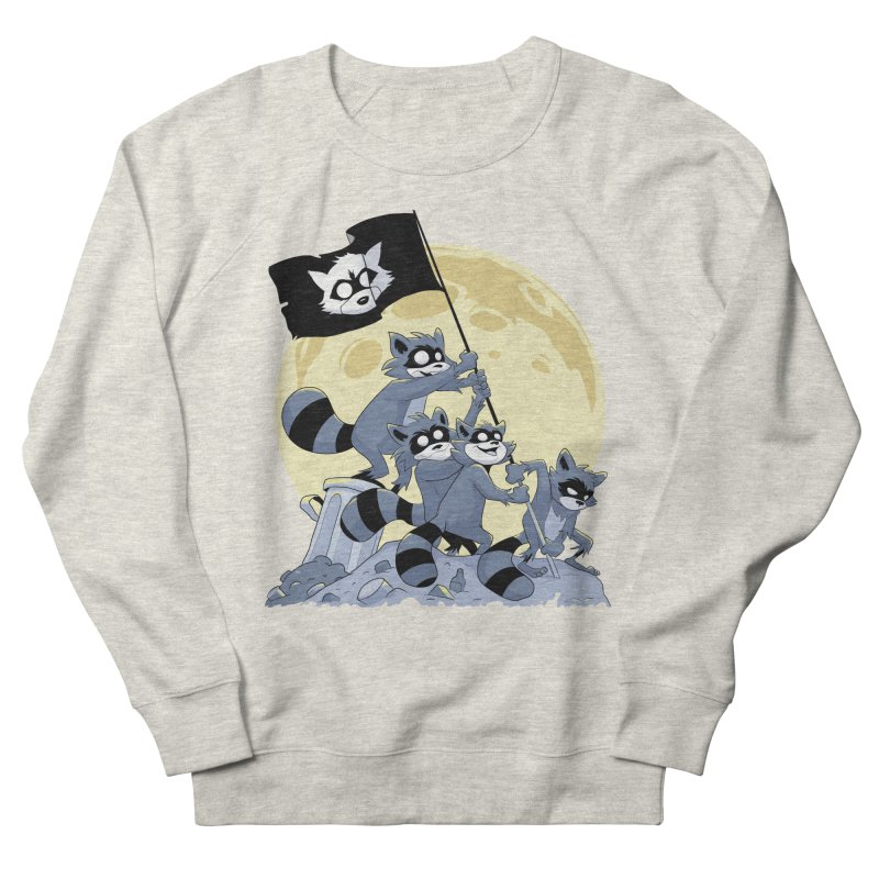 Raising the Flag Men's Sweatshirt by Raccoon Brand