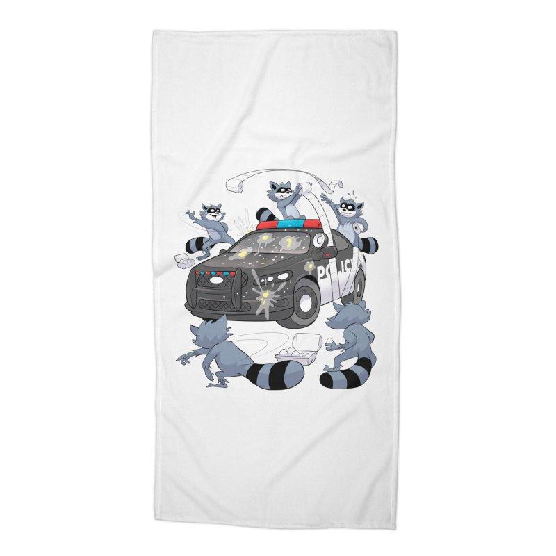 Midnight Mischief Accessories Beach Towel by Raccoon Brand