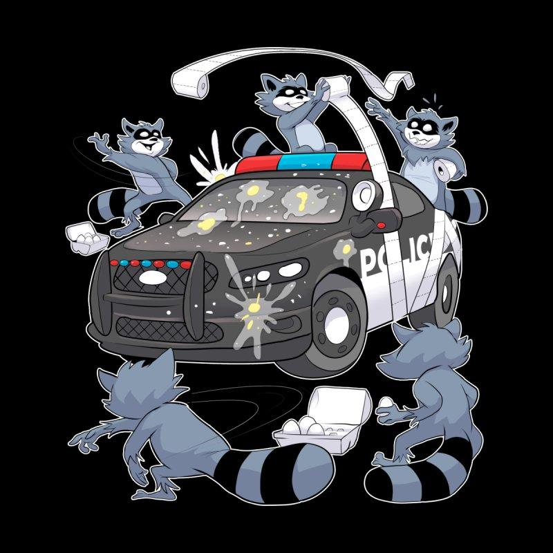 Midnight Mischief Men's T-Shirt by Raccoon Brand