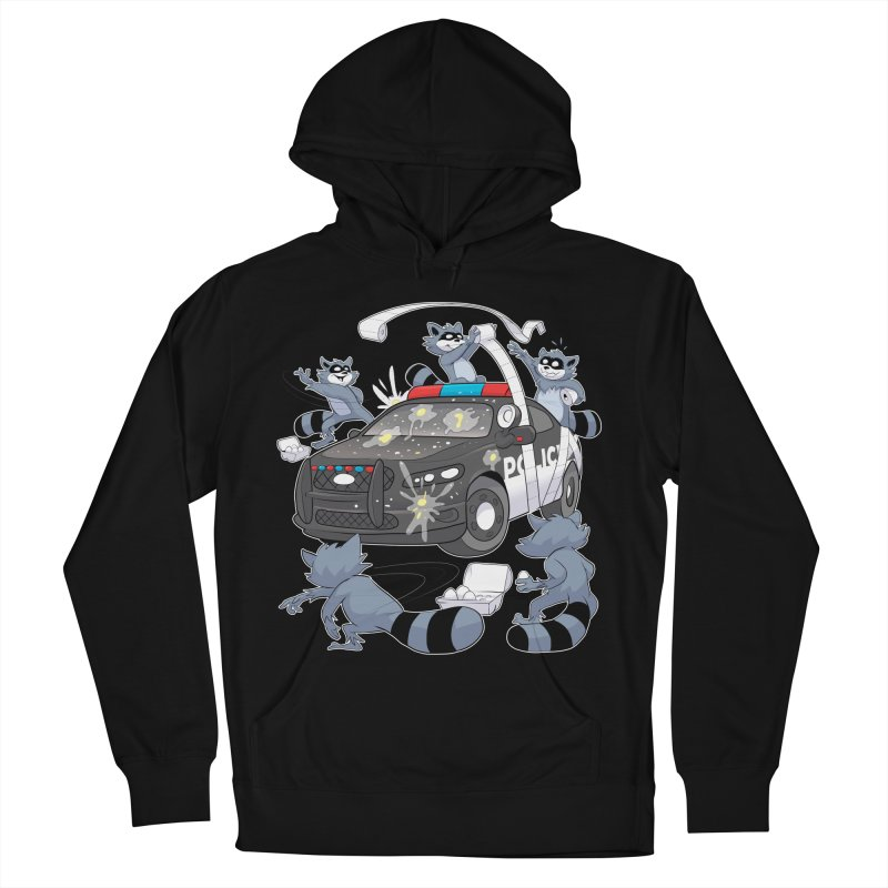 Midnight Mischief Men's Pullover Hoody by Raccoon Brand