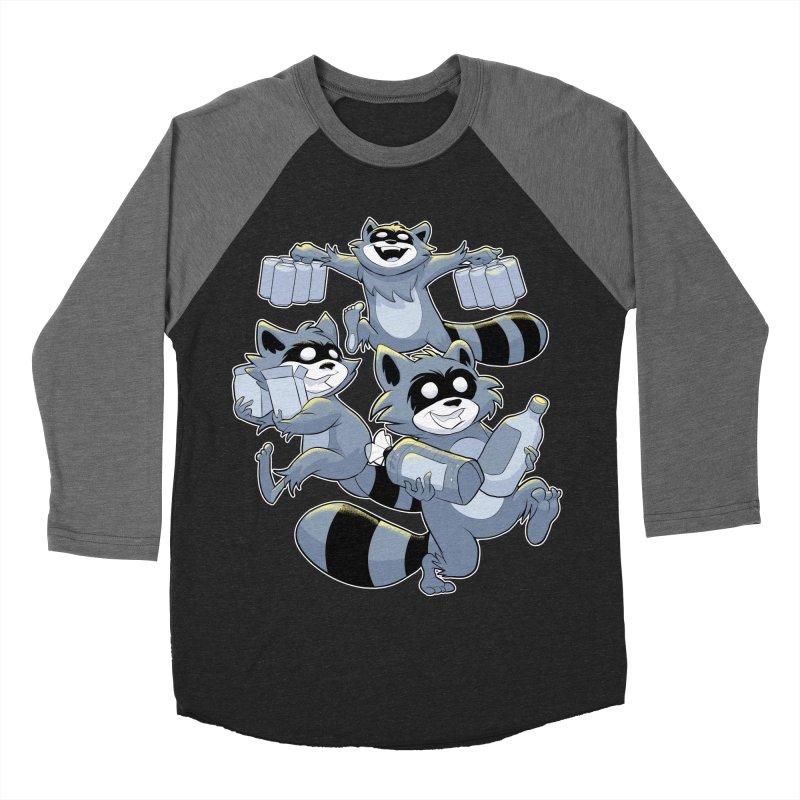 Heist Women's Baseball Triblend T-Shirt by Raccoon Brand