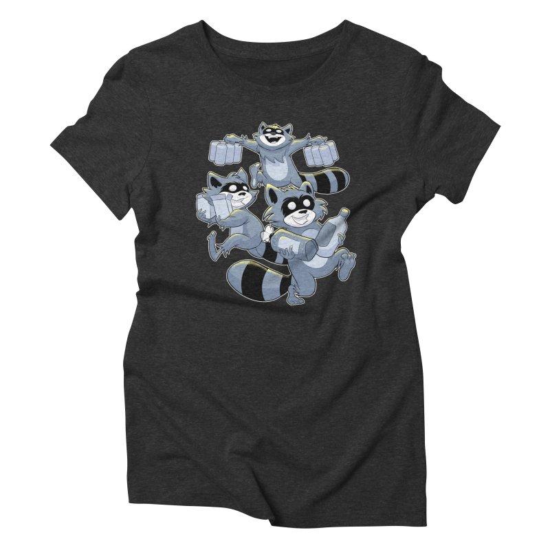 Heist Women's Triblend T-Shirt by Raccoon Brand